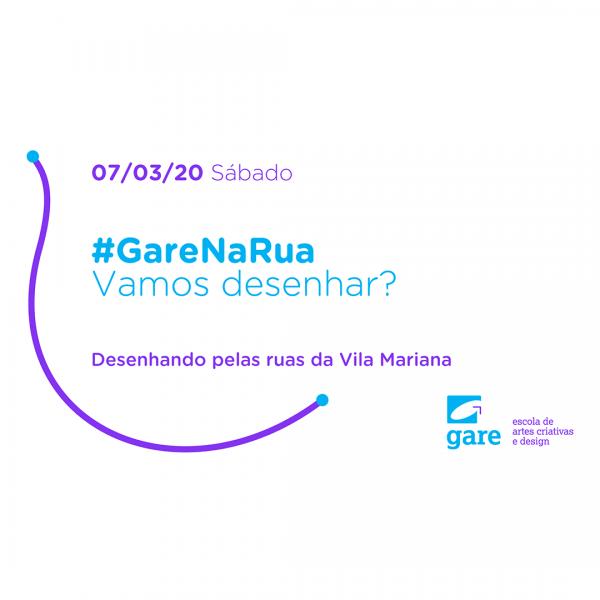 #GareNaRua