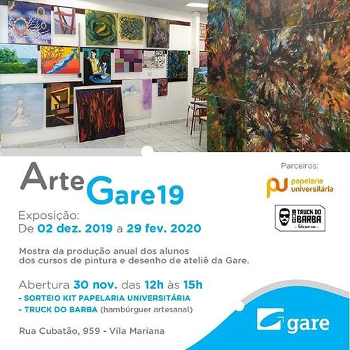 Exposição Arte Gare 19