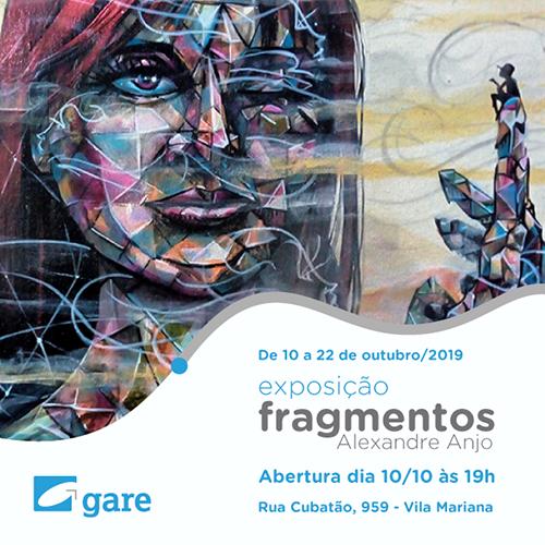 Exposição Fragmentos – Alexandre Anjo