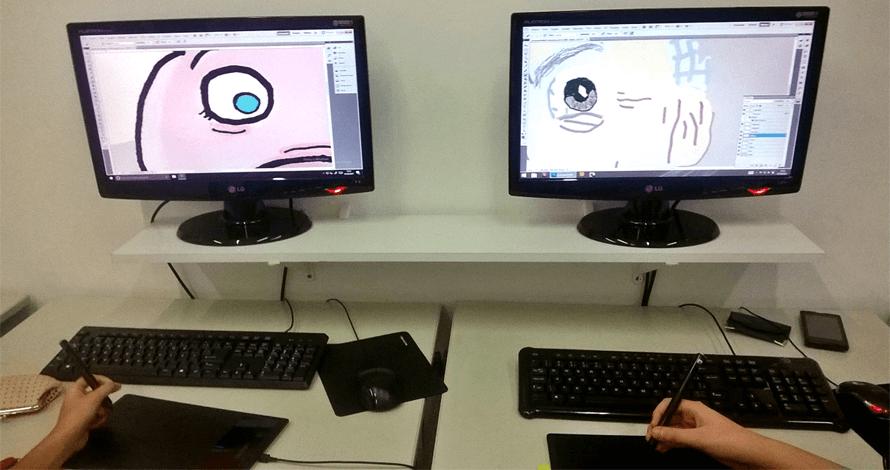 arte digital kids - crianças em aula 1
