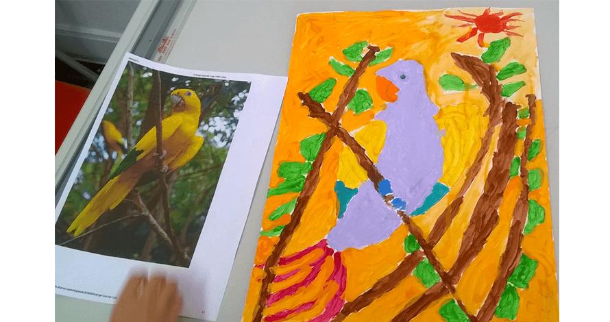 arte para crianças - Kathleen Yeh