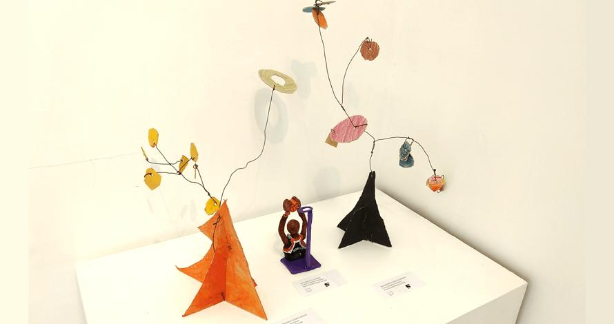 arte para crianças curso escultura móbile estudo de Calder