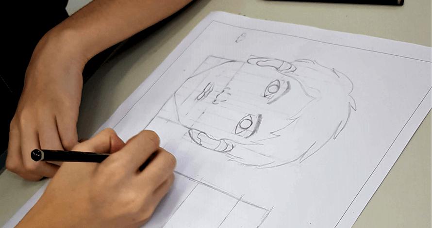 bases do desenho cabeça proporção homem