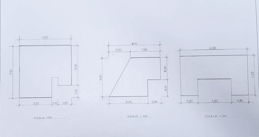 decoração - projeto de ambiente desenho técnico