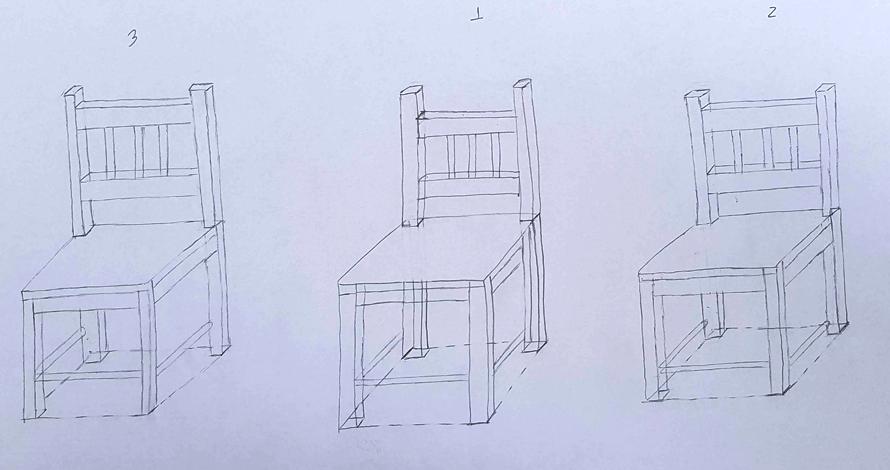 decoração - projeto de ambiente desenho cadeiras
