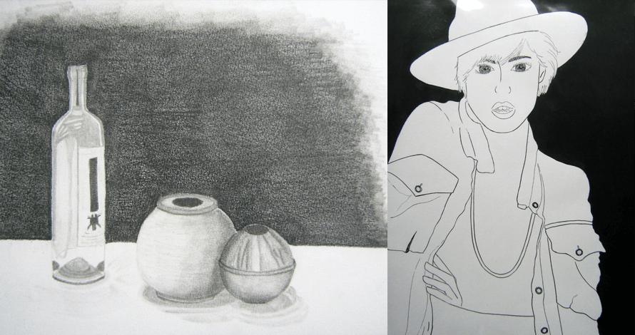 Trabalho da Aluna Mais Moraes Simi Petrini - Desenho para Vestibular