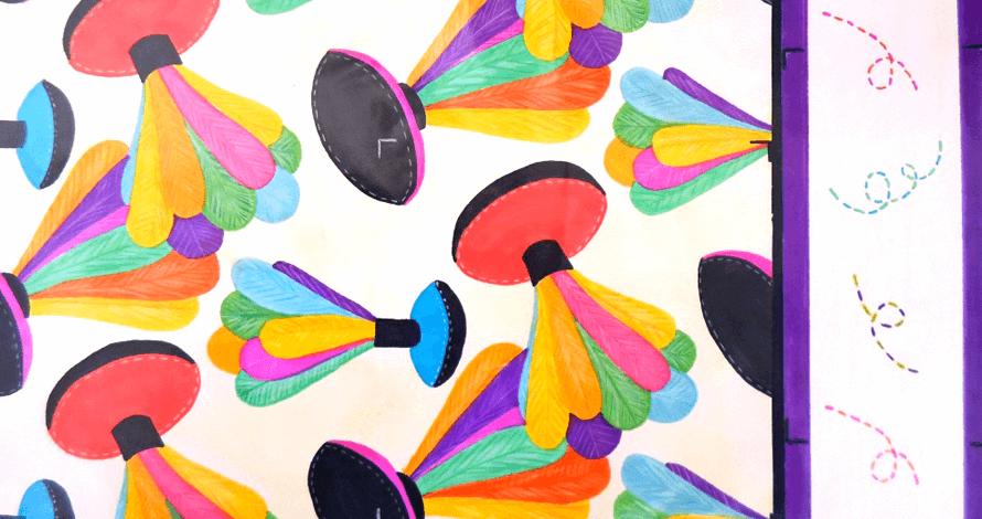 design de estampas - Larisssa Barrios