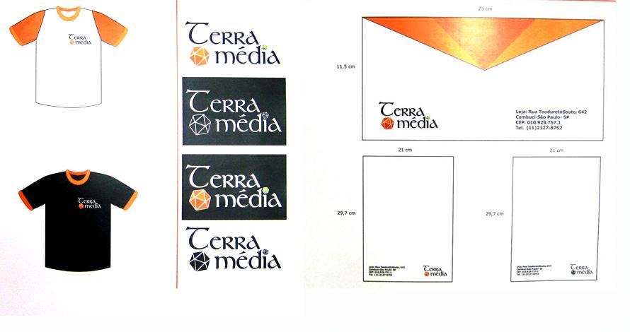 design gráfico manual identidade visual logotipo papelaria