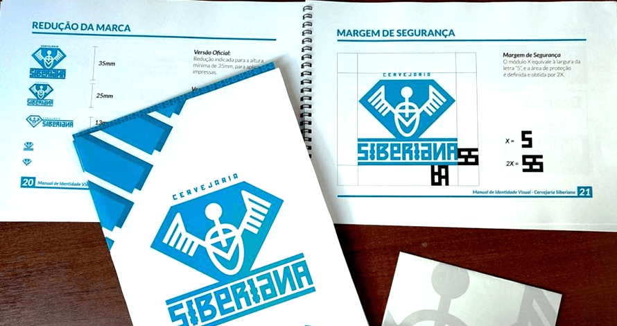 design gráfico manual identidade visual logotipo