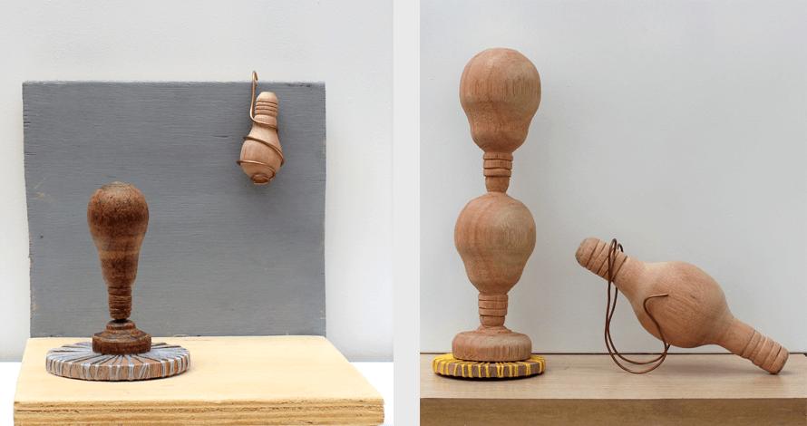 Práticas de Artista oNúcleo objetos de madeira torneada