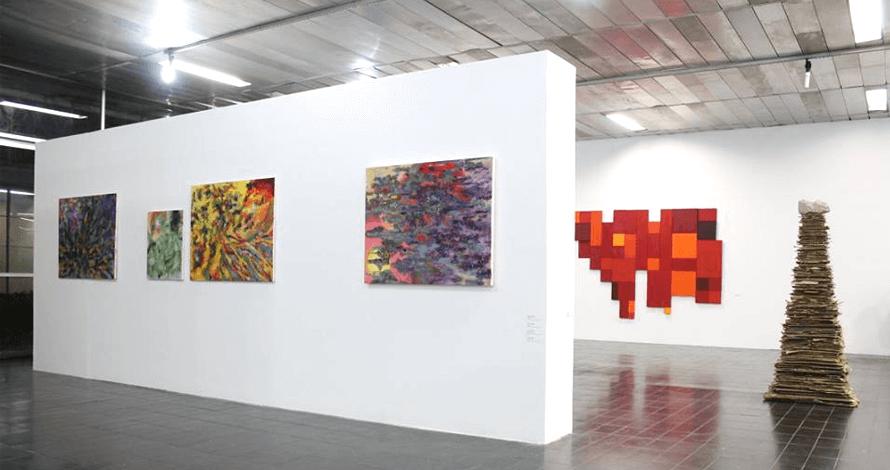 Práticas de Artista oNúcleo exposição de pinturas Paço de Sto.André