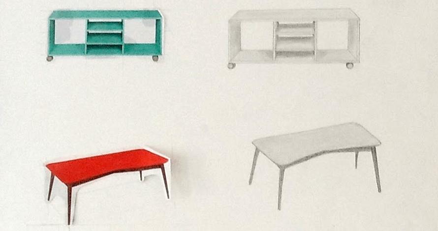 técnico em design de interiores desenho de móveis