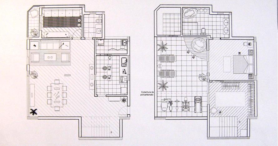 técnico em design de interiores plantas decoradas casa sobrado
